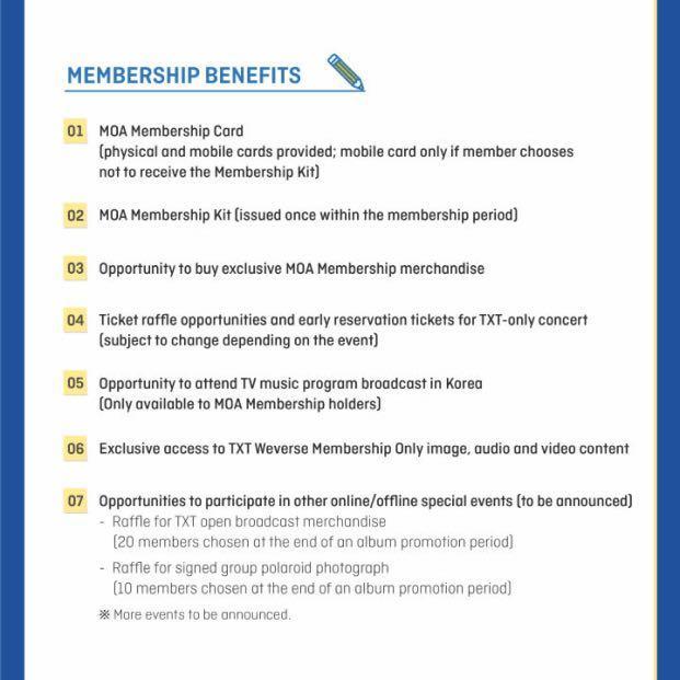 [Purchasing Service] TXT Official Fanclub Membership