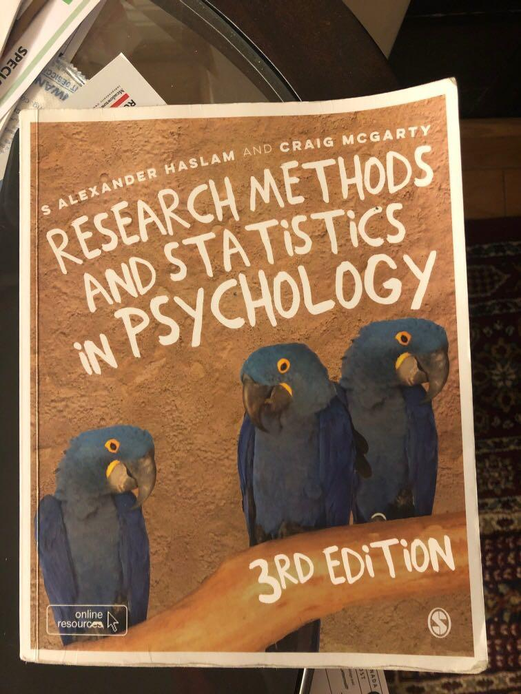 Research Methods and Statistics in Psychology Textbook