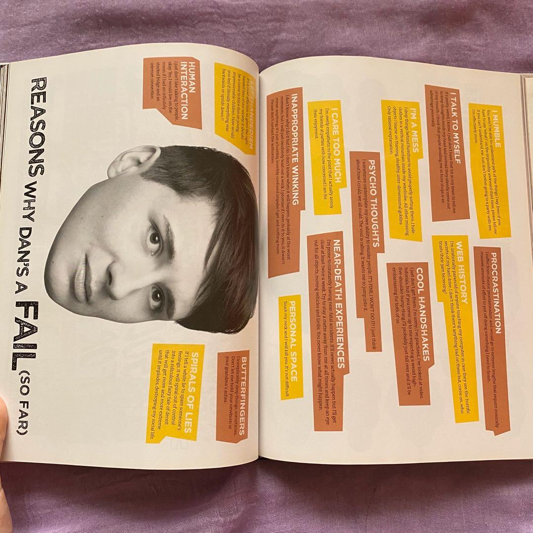 (Shipping Included) The Amazing Book is Not on Fire by Dan and Phil