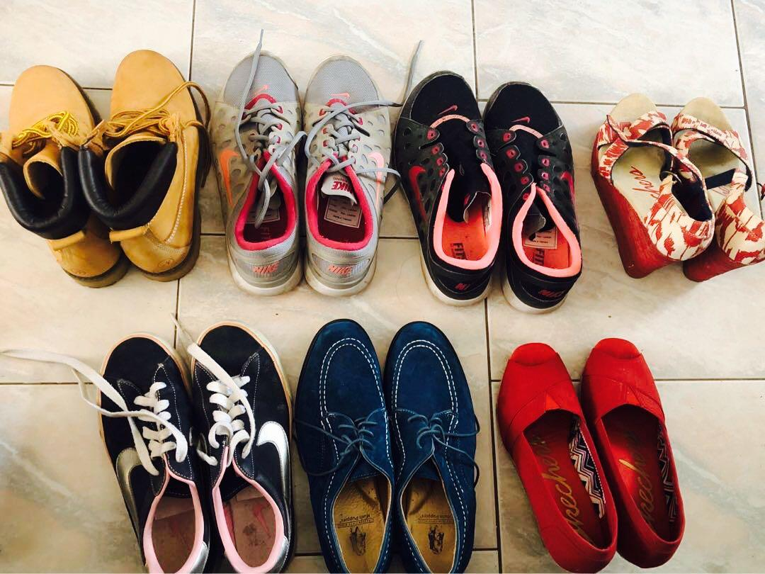 SHOES SHOES SHOES  • NEGOTIABLE • Msg an offer from $20