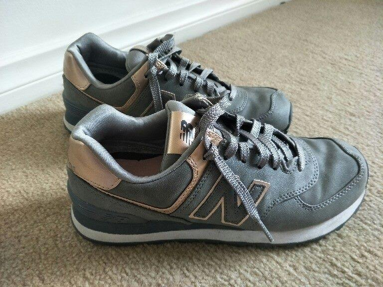 Sneakers NEW BALANCE Rose Gold/Grey, Women size US 7 / UK 5 - as new condition