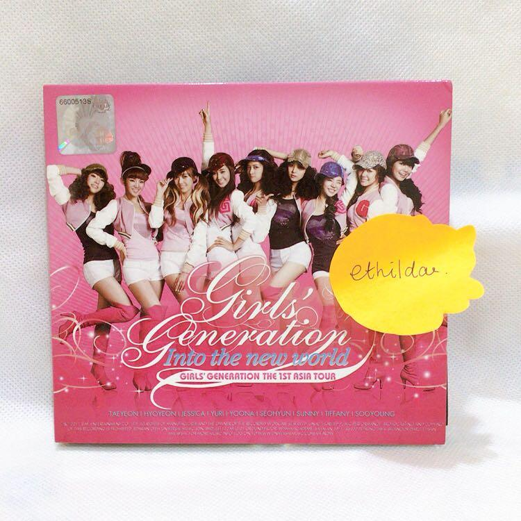 SNSD Girls' Genration The 1st Asia Tour : Into the New World (2CD)