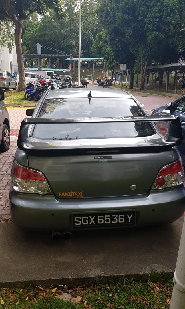 Subaru Impreza 5MT Manual