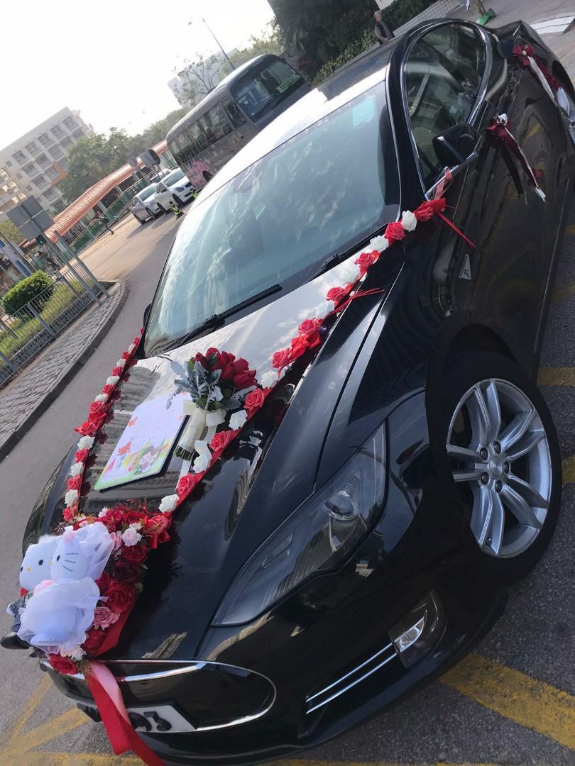 預訂TESLA(超級靚車)豪華版婚禮專用只此一架