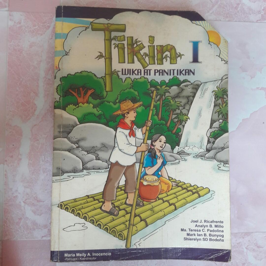 Textbook/Workbook for Gr. 1 Sumulat Tayo & Tikin Wika at Panitikan