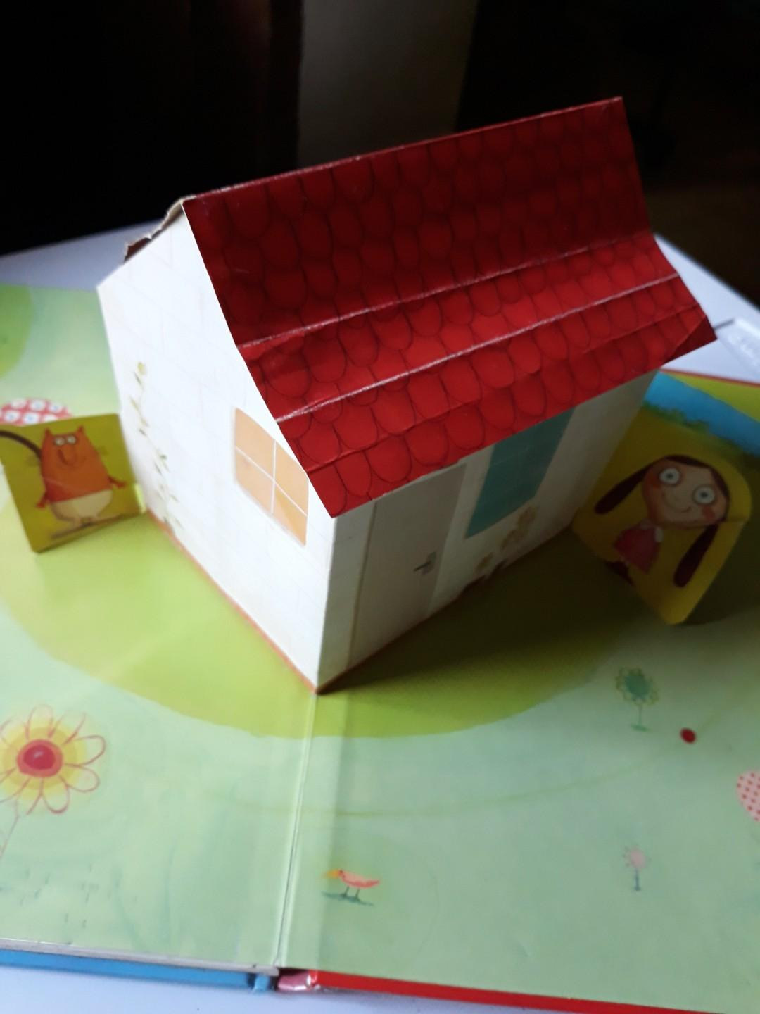 The House That Jill Built lift the flap and pop up children's book