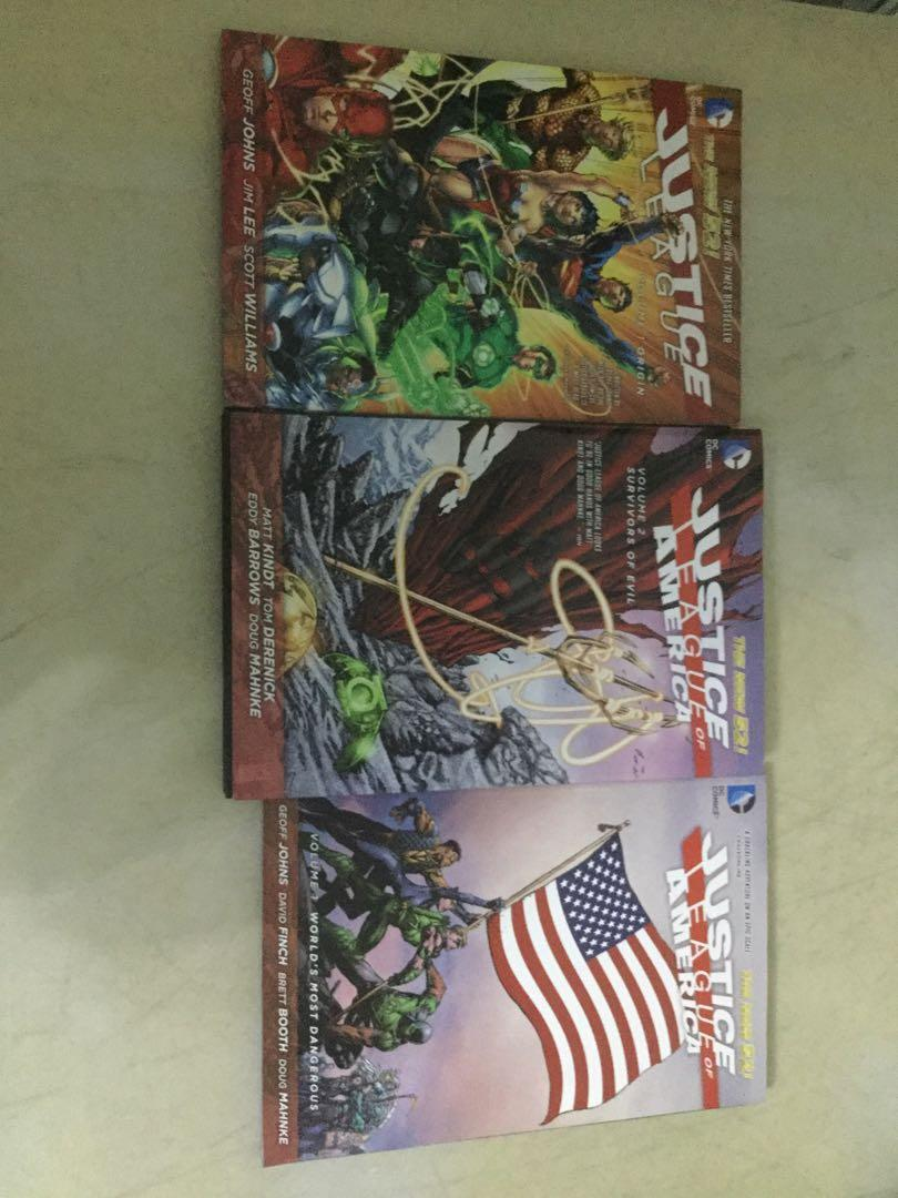 The New 52 Justice League and Justice League of America Volume 1 and 2