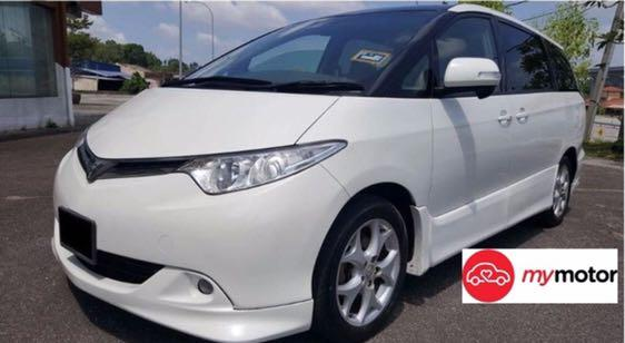 Toyota Estima For Rent In Bedok