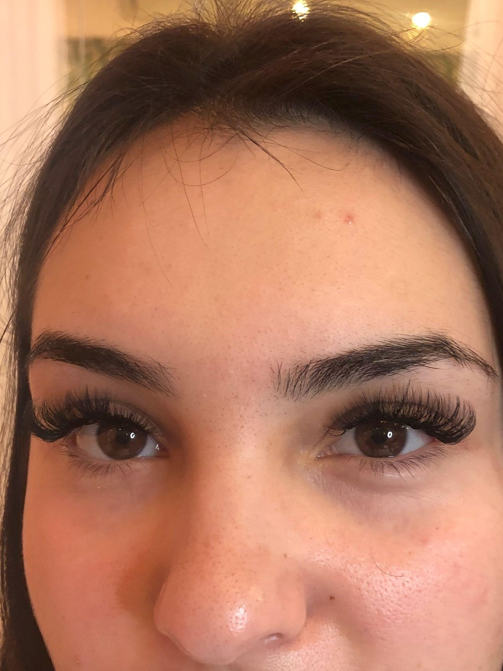 Volume lash extensions $95 Refill $55( promo 70 and refill $50)