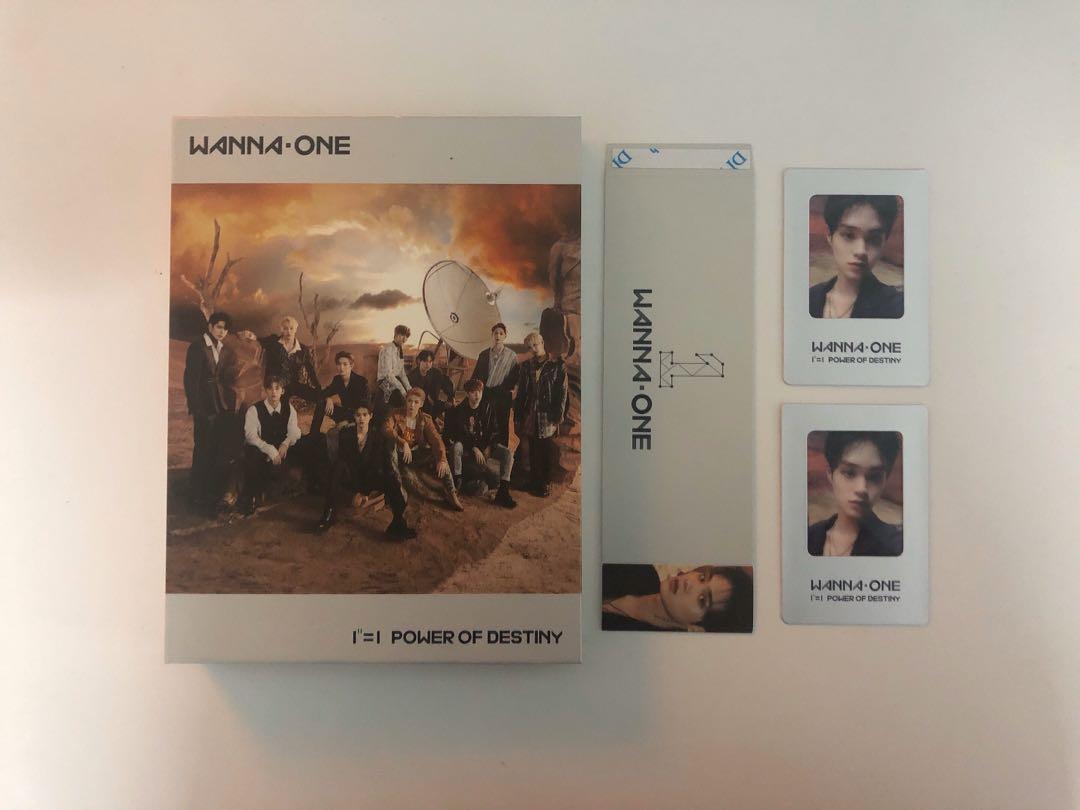 Wanna One Power of Destiny POD Adventure Ver. Album