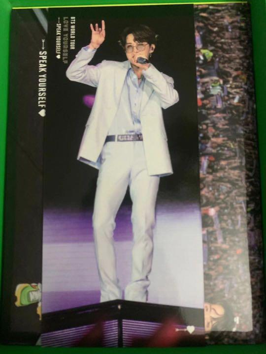 WTT BTS Love Yourself Speak Yourself São Paulo Bookmark