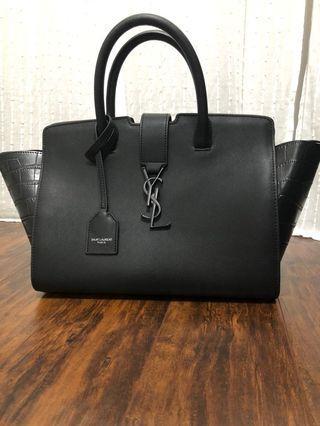 Black Top Handle Handbag
