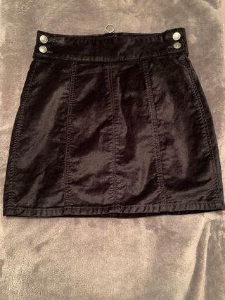 Free People corduroy skirt