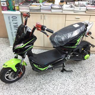 【擱再來】☆全新 戰狼 60V 20Ah 1500W 免牌照 電動自行車