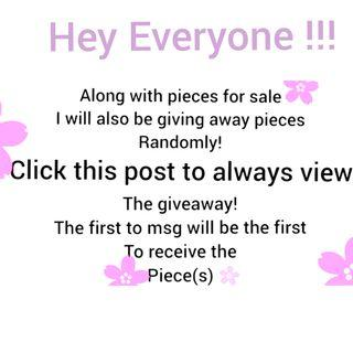 Giveaway!!