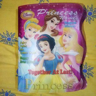 Isi binder berkarakter (princess, cinderella, barbie, hello kitty, dll) kertas harvest