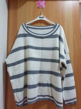 私物🌸灰白針織衫