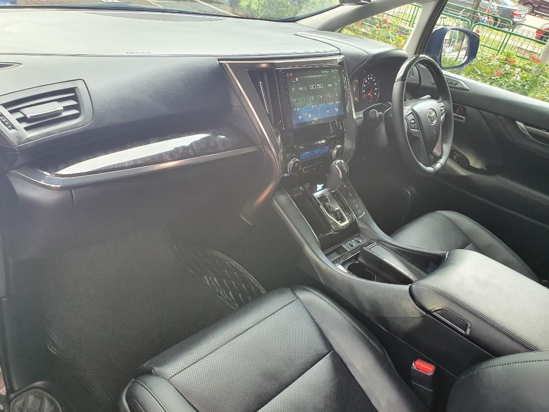 2020 Latest Toyota Alphard 2.5 SC High Specs (3 LED)