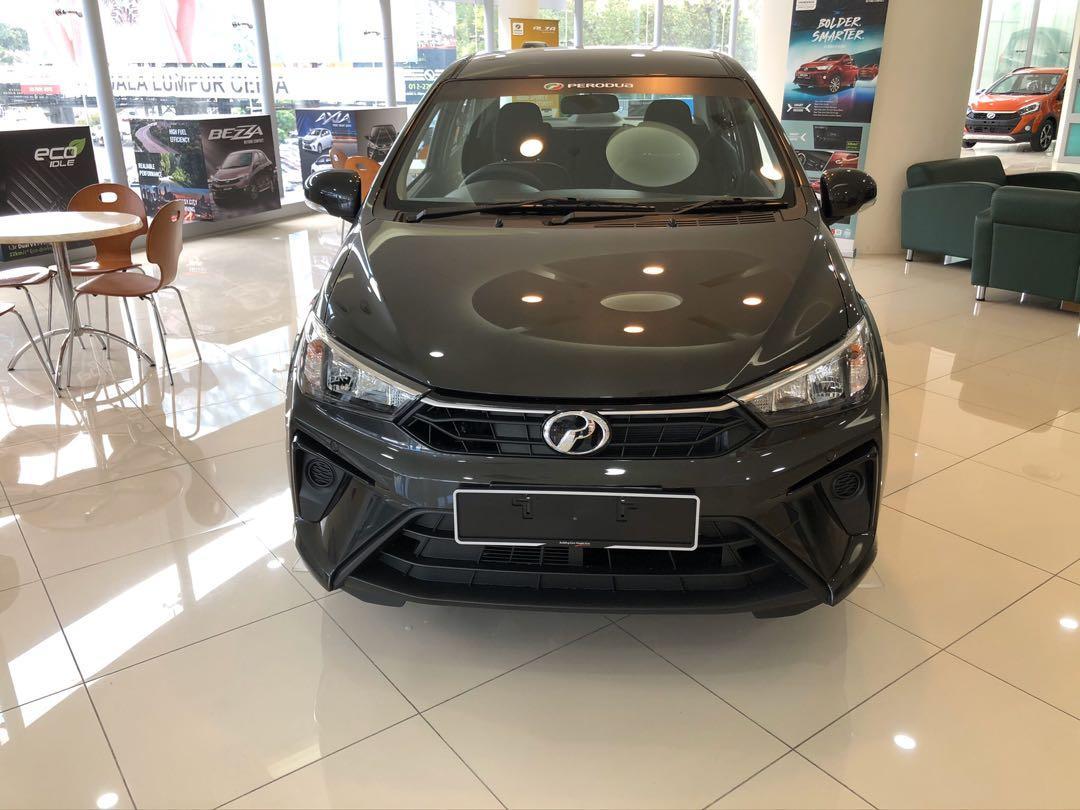2020 Perodua Bezza 1.0 GXtra (A) Granite Grey Maximum Loan