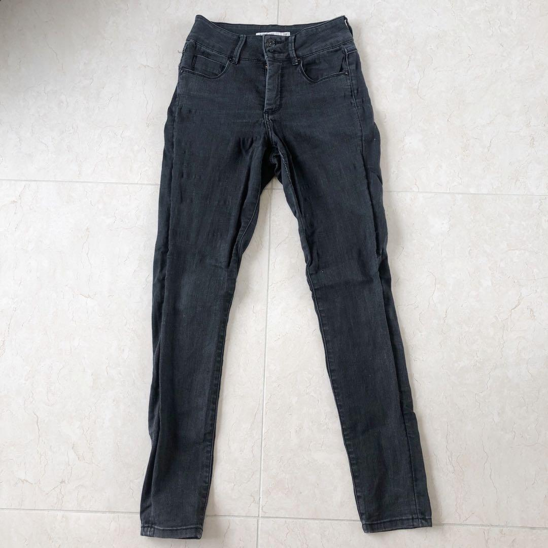 (8) Just Jeans 1970 High Waisted Black Skinny Jeans