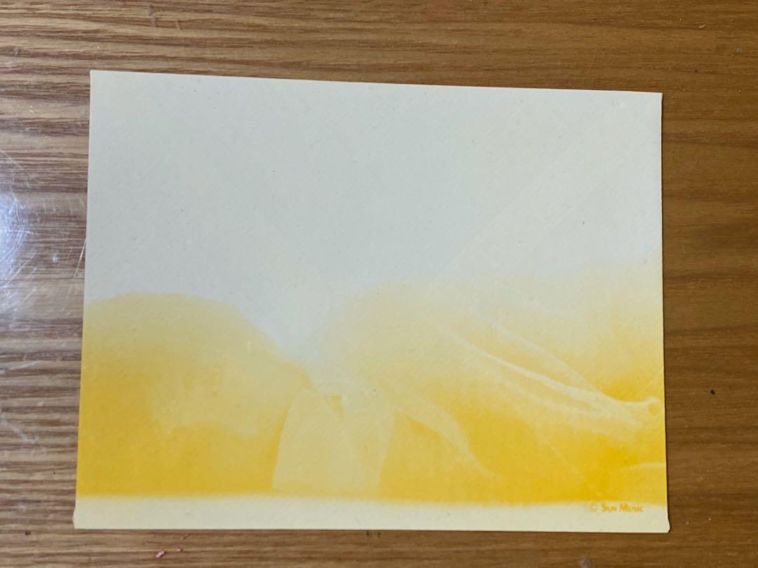 酒井法子演唱會精品 信紙信封