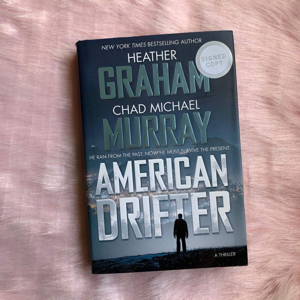 American Drifter by Chad Michael Murray and Heather Graham (SIGNED)