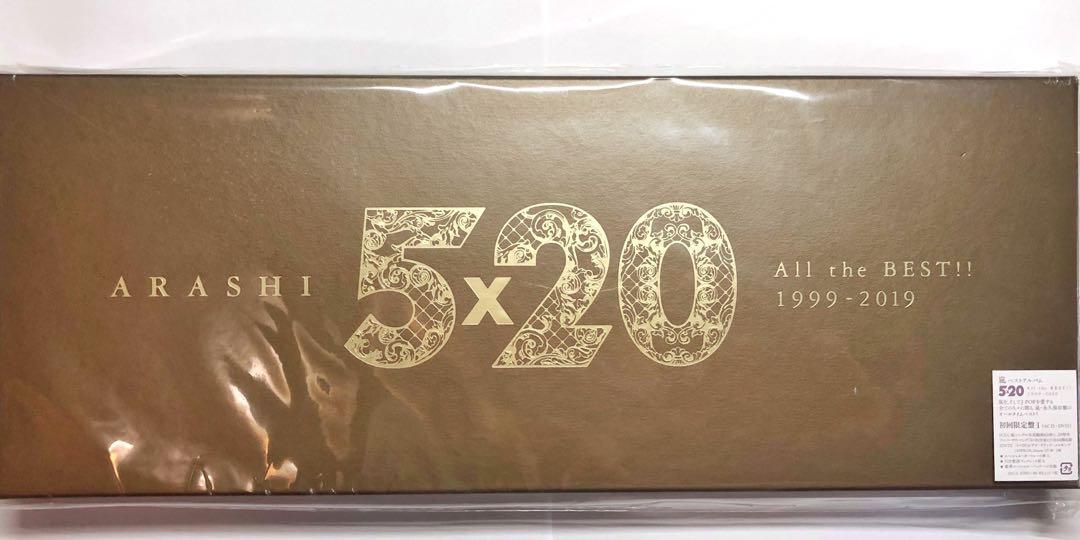 Arashi 5 x 20 日版 初回限定盤 A [4CD + 1DVD]
