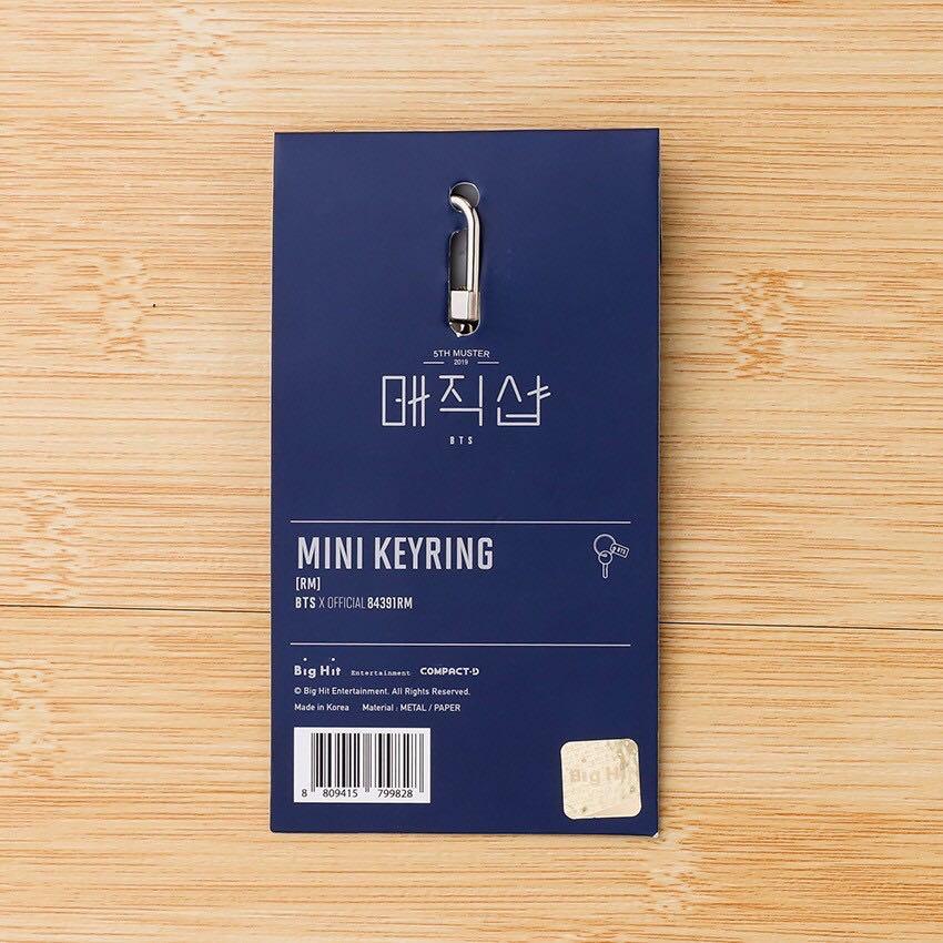BTS 5th Muster Magic Shop Pendant Mini Keychain/Keyring