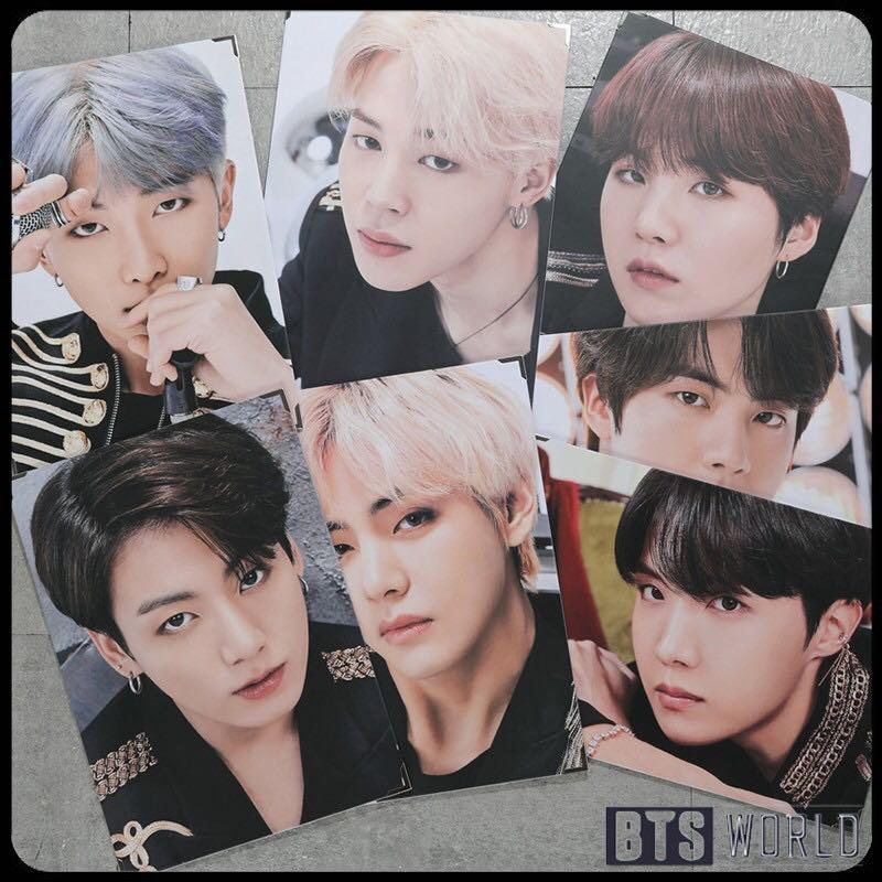 BTS JAPAN LOVE YOURSELF/ SPEAK YOURSELF Metal Photo Frame