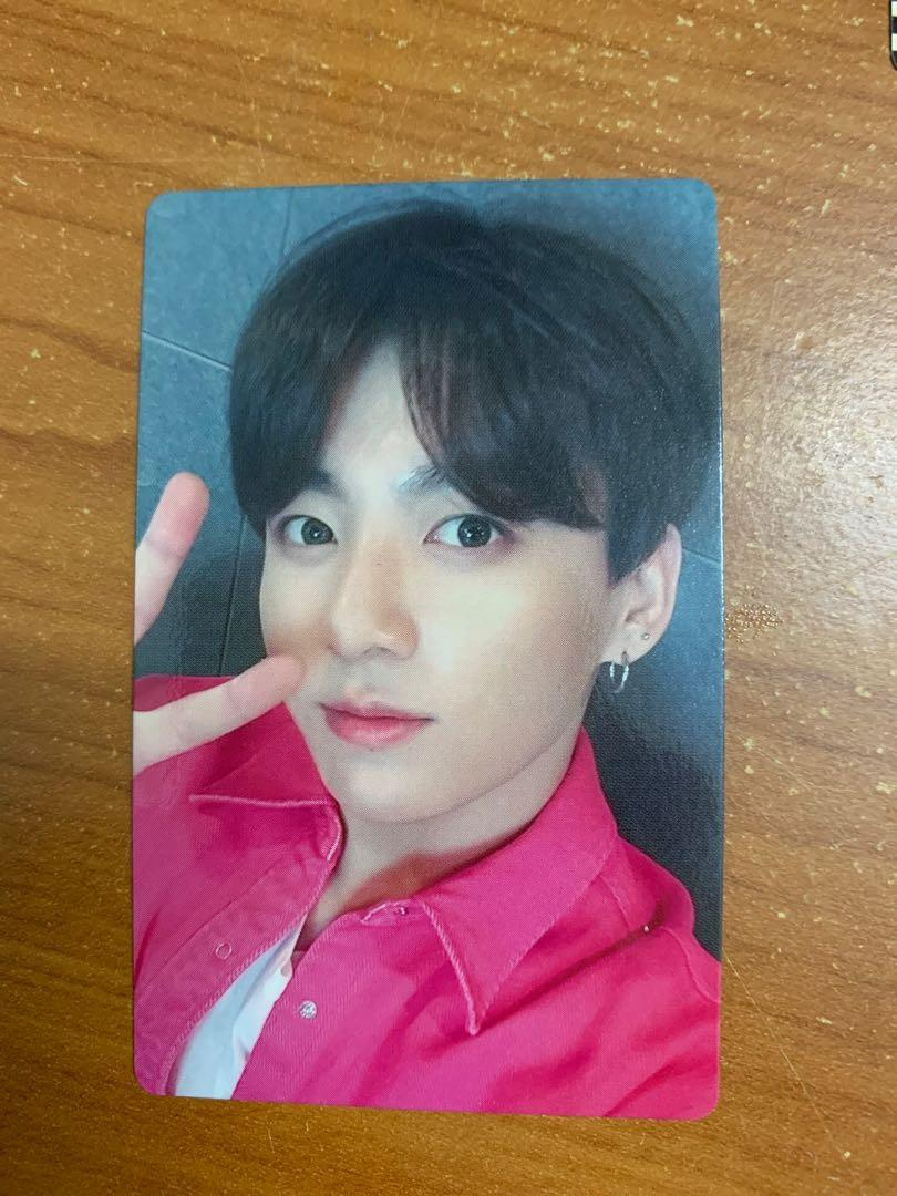 BTS LIGHTS ALBUM LIMITED EDITION PHOTOCARD - JUNGKOOK