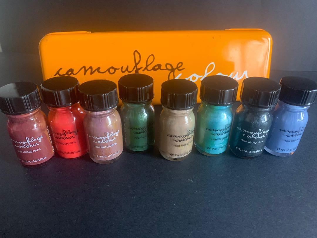 Camouflage Colours TNS1001 Nail lacquers product of Australia