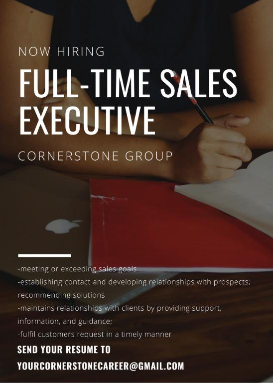 Full-Time Sales Executive