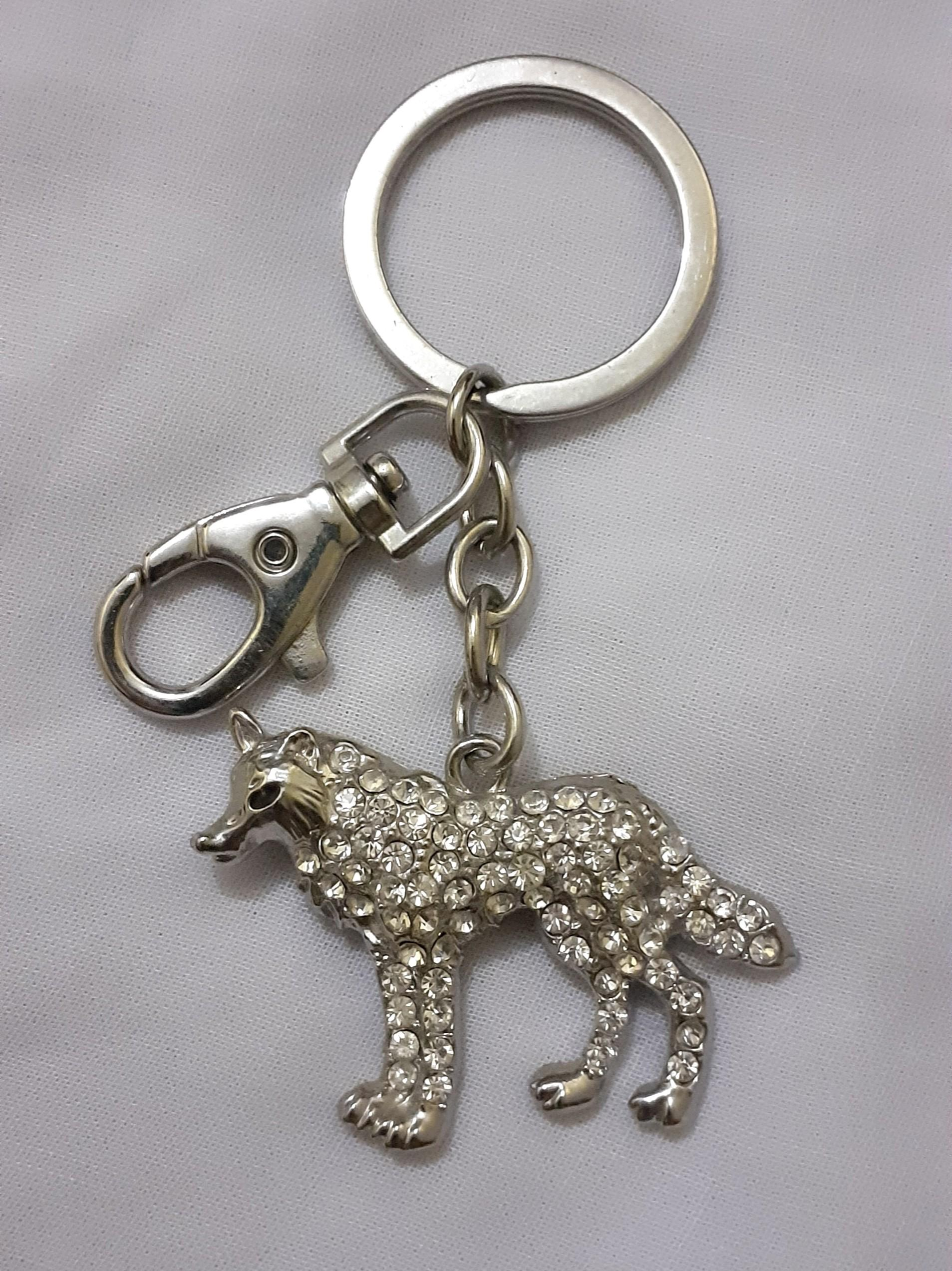 Gantungan Kunci Wolf / Wolf Keychain / Luxury Keychain / Gantungan Tas Murah / Gantungan Kunci Mobil
