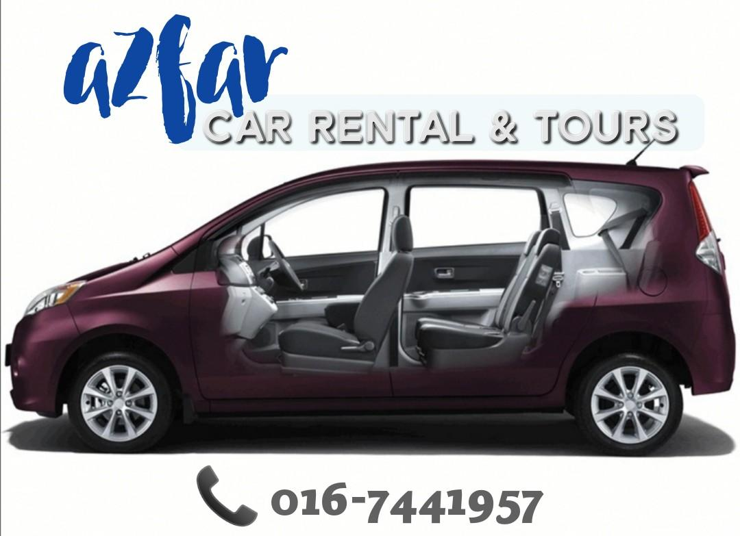 HOLIDAY DAY TRIP TOUR | CAR RENTAL | KERETA SEWA MPV MURAH