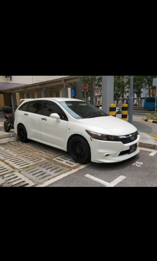 Honda Stream RSZ & Honda Fit Skyroof for rent! Very Affordable Vehicles for Rent! PHV ready!