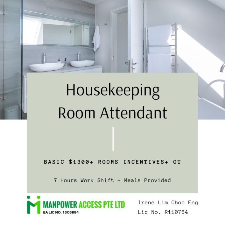 Housekeeping Room Attendant