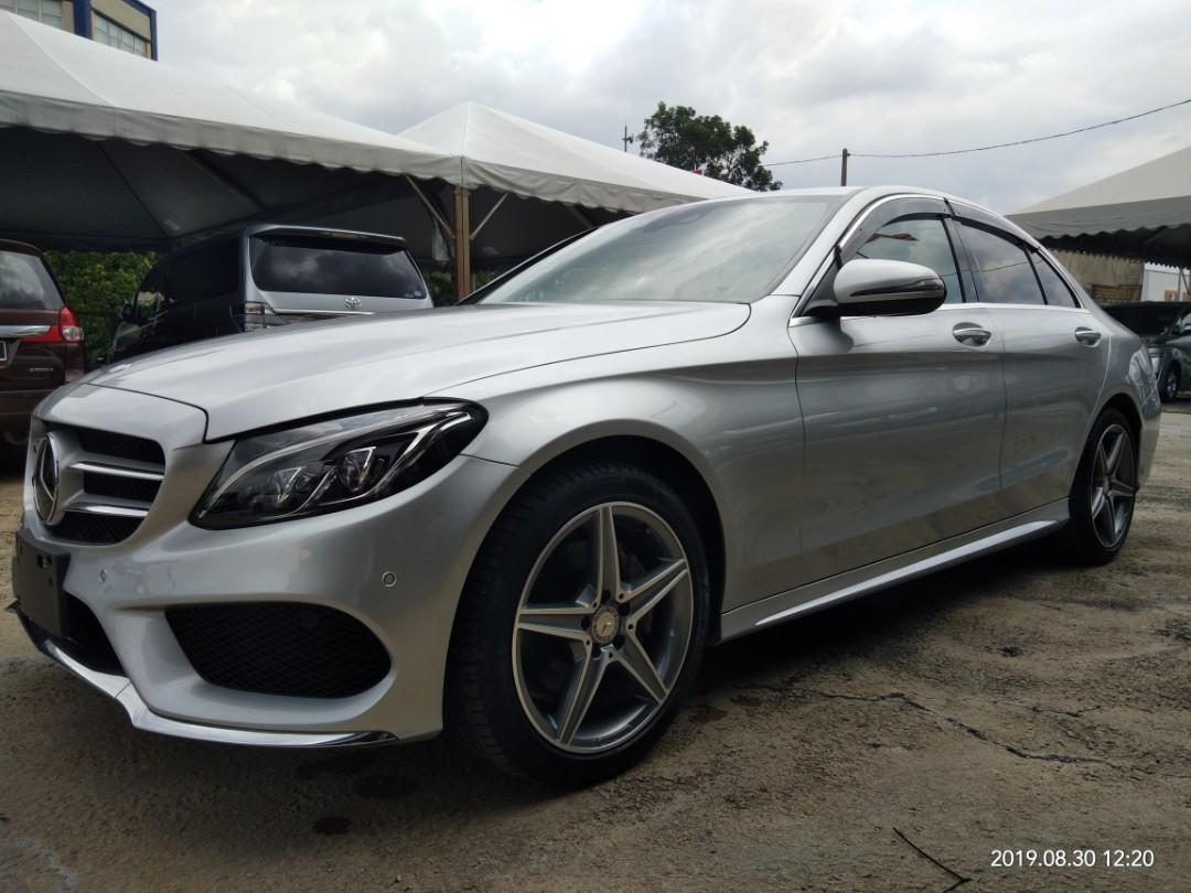 MERCEDES Benz C-Class C200 AMG 2.0TURBO RECON~2016 FOUM JAPAN PRICE~ON THE ROAD RM193,888.88 1year warranty👍📲HP012-2367272SENGSENG☺🙏