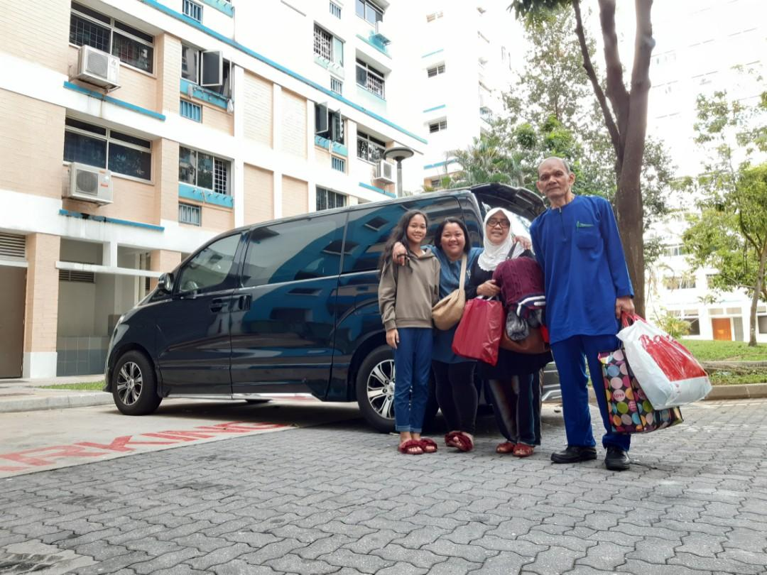 MPV Transport with driver Singapore to Johor / SG to JB or any part in Malaysia
