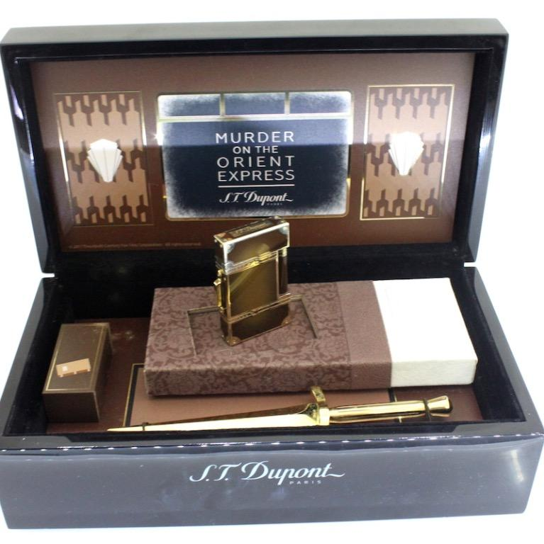 S. T Dupont x Murder On The Orient Express - 888 Piece Limited Edition Lighter & Letter Opener Set
