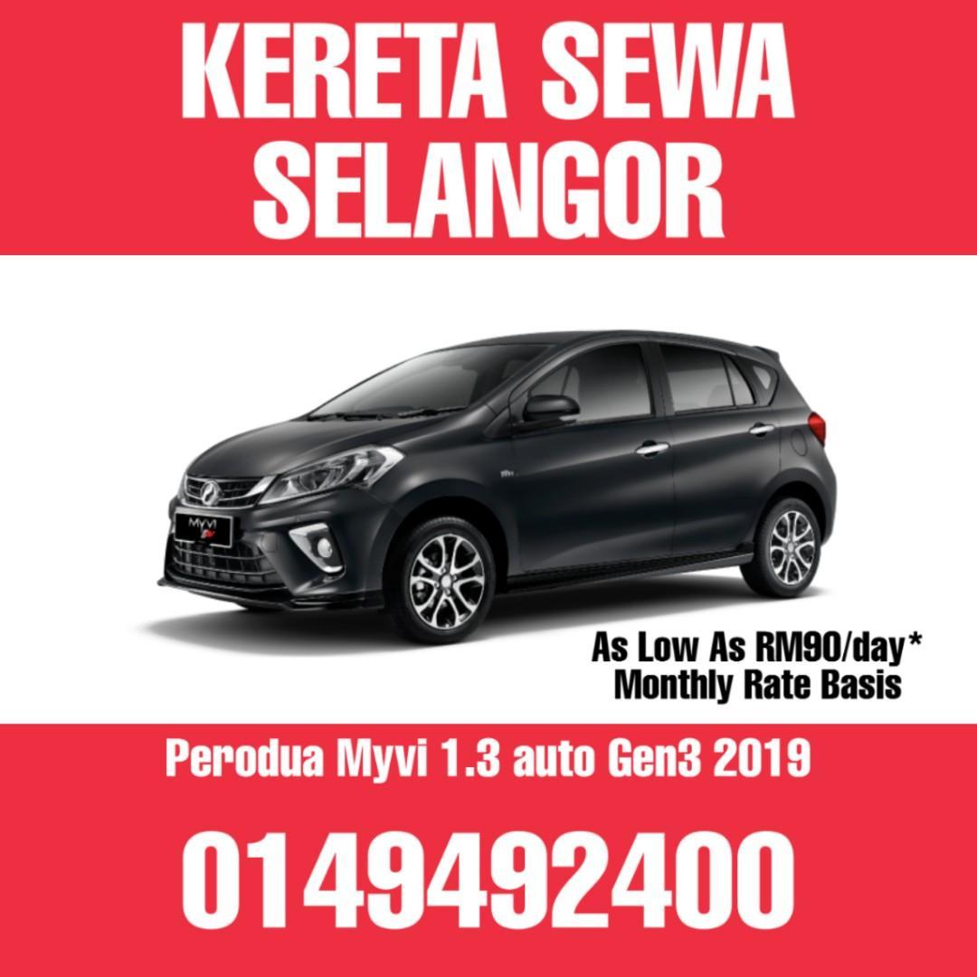 Sewa Kereta Murah Shah Alam Klang Subang Jaya   Axia Myvi Alza City Civic CRV Vellfire