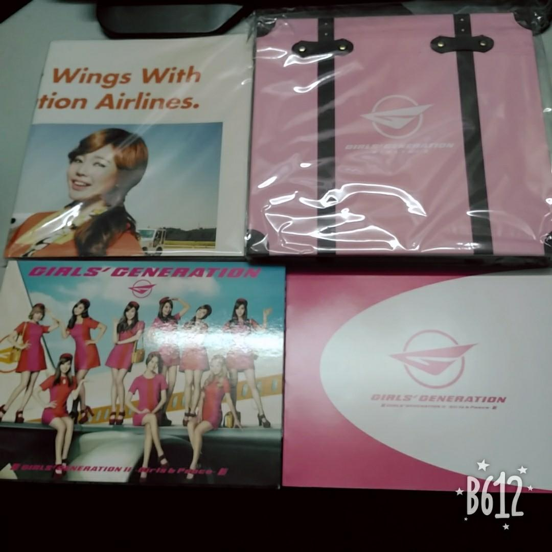 SNSD Girls & Peace Deluxe 1st Press Limited Edition