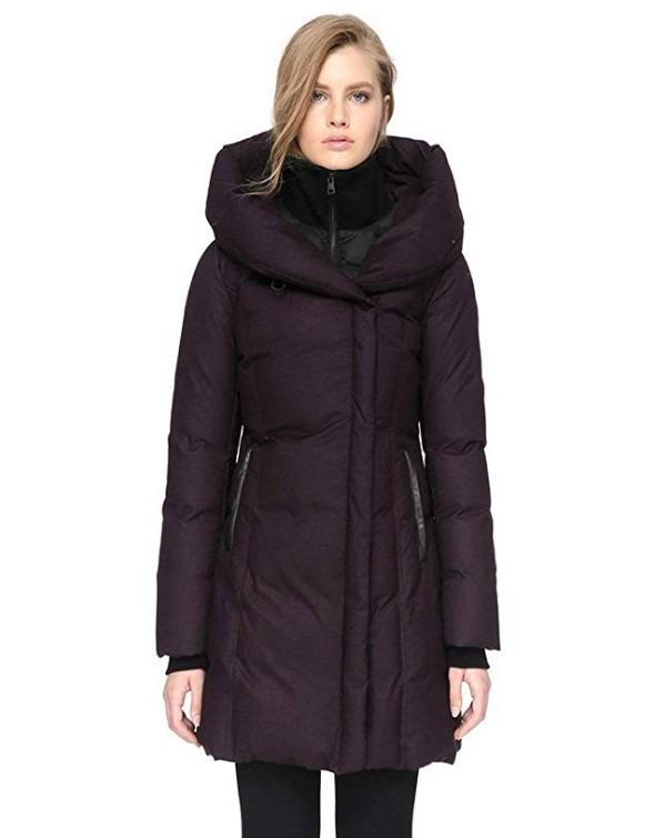 Soia & Kyo Camyl Slim-fit Down Winter Coat