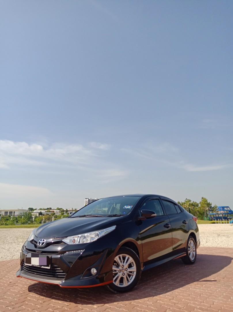Toyota Vios 1.5E(A) Kereta Sewa Murah Mantul KL Selangor