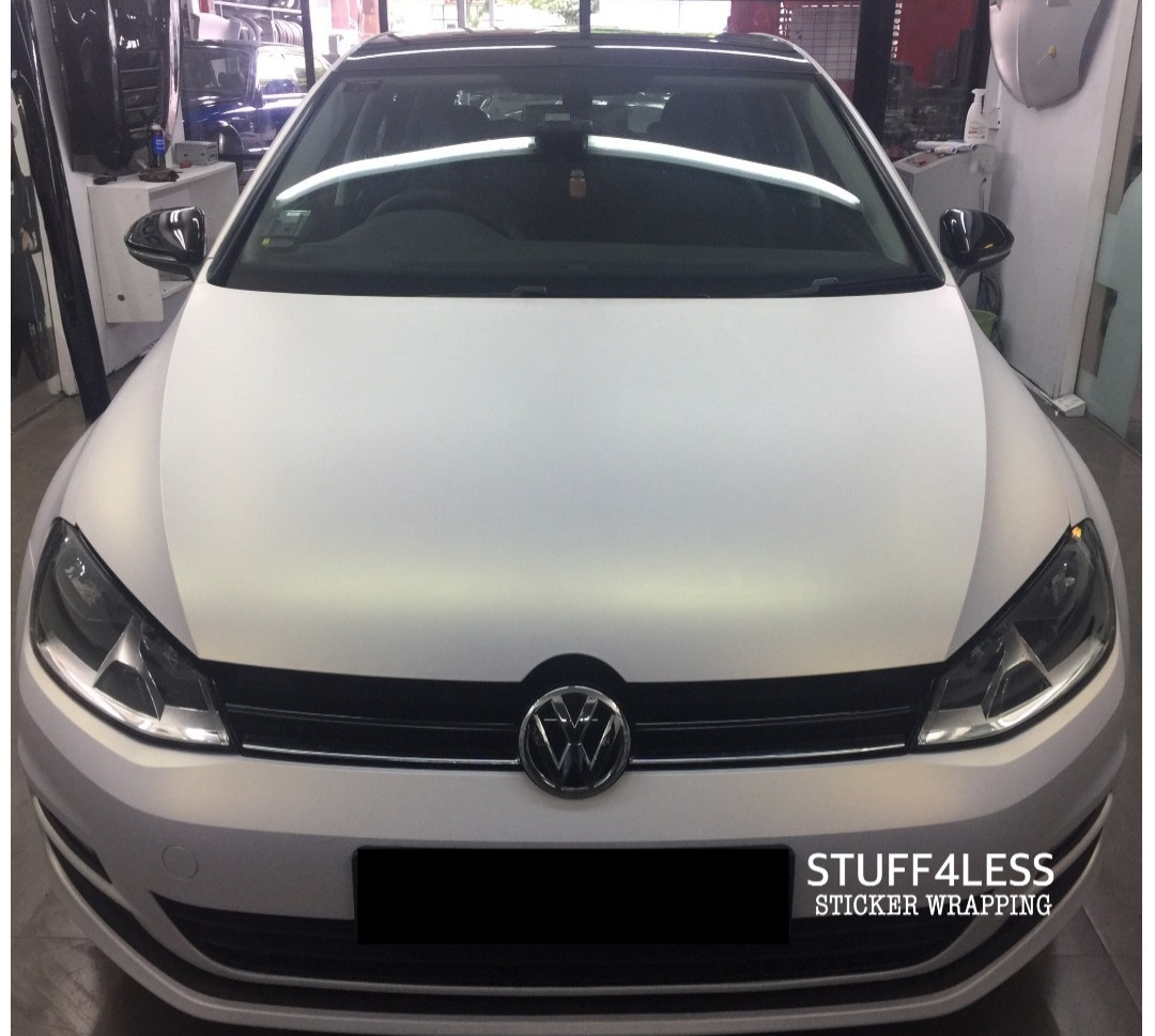Volkswagen Golf Car Wrapping Car Accessories Accessories On Carousell