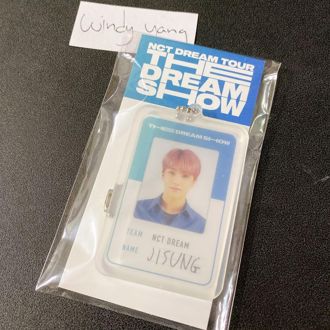 [WTS] NCT Dream Jisung The Dream Show Official Acrylic Photo Keyring