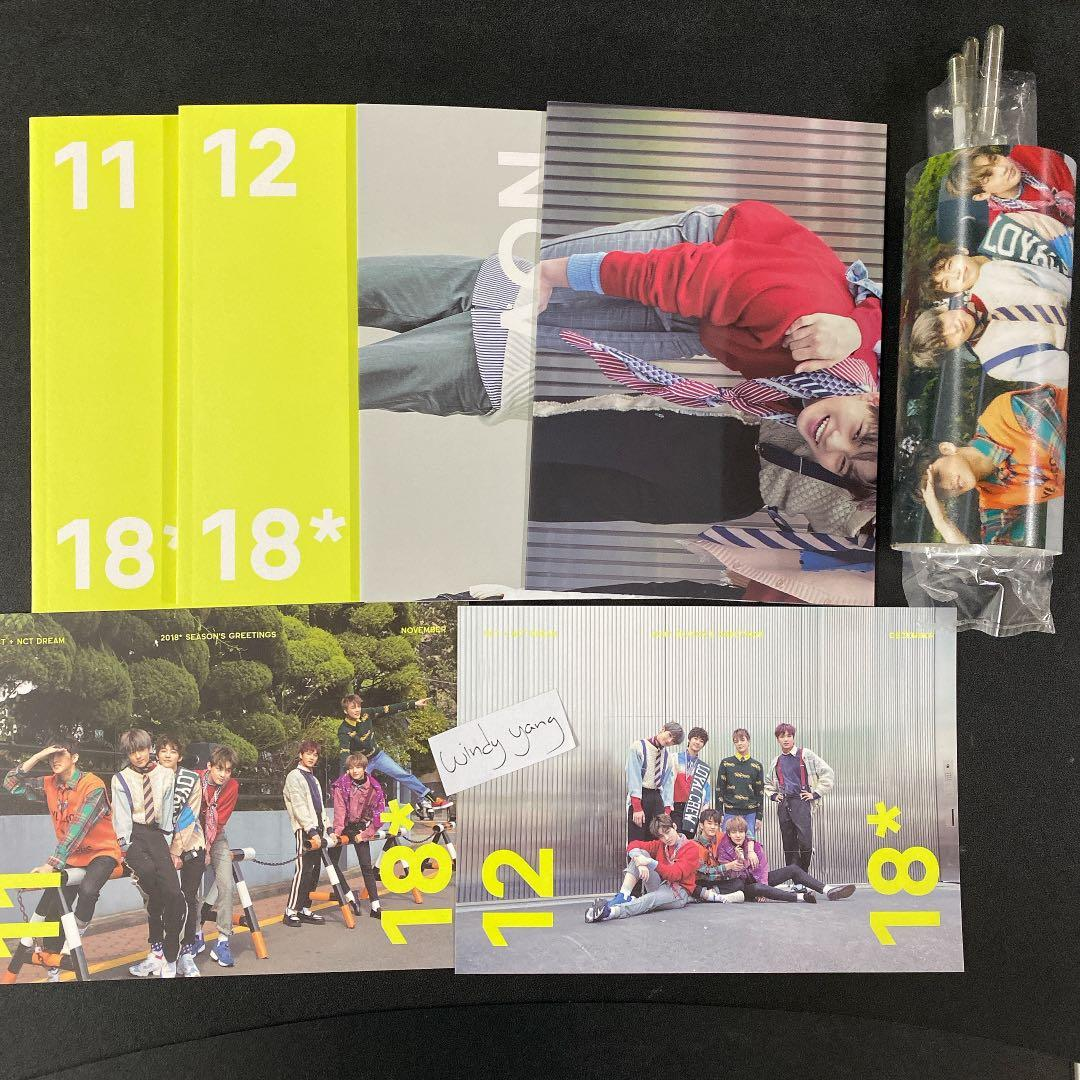 [WTS] NCT Dream Official 2018 Season's Greetings Set