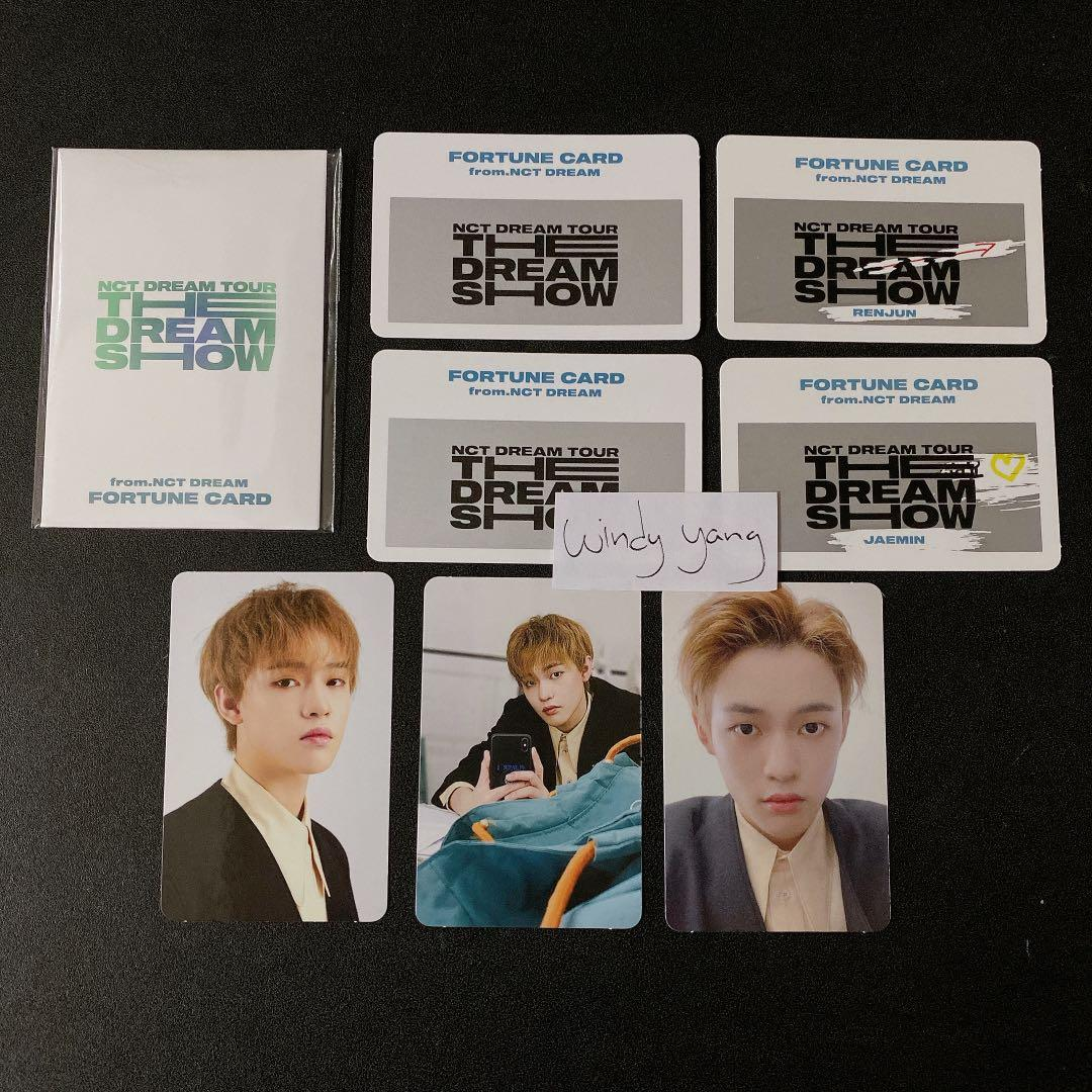 [WTS] NCT Dream The Dream Show Official Fortune Card Chenle Photocard