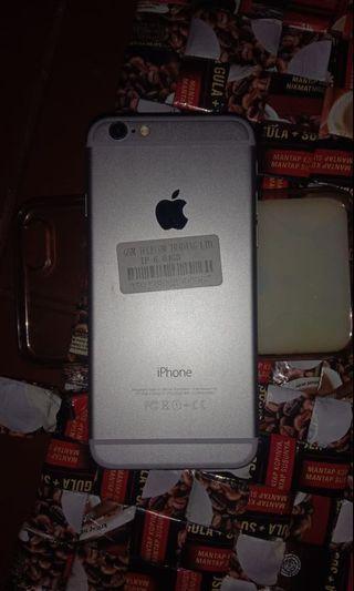 Dijual Iphone 6 64GB Mulus Fullset