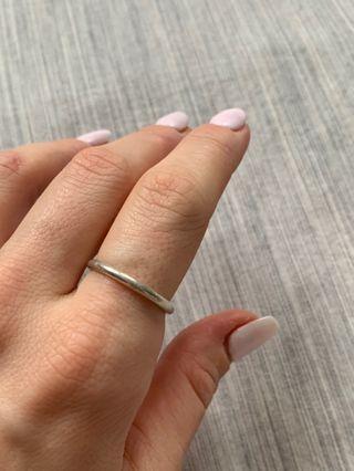 Pandora Simple Stacking ring (size 7)