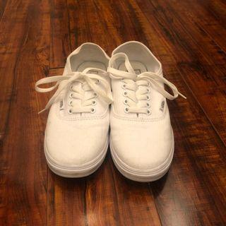 White Vans 7.5